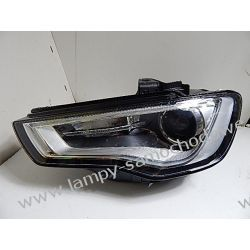 Audi A3 bi-xenon nie-skrętna Lewa lampa 8V0 LED