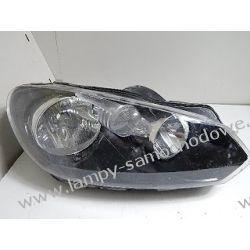 VW Golf VI prawa oryginalna lampa przód