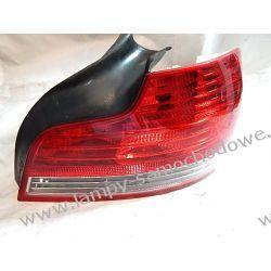 BMW 1 E88 E82 PRAWA LAMPA TYŁ
