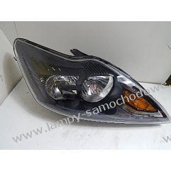 Ford Focus MK2 lift prawa czarna lampa przód