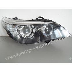 BMW E60 LIFT PRAWA LAMPA BI-XENON NIESKRĘTNY PRZÓD
