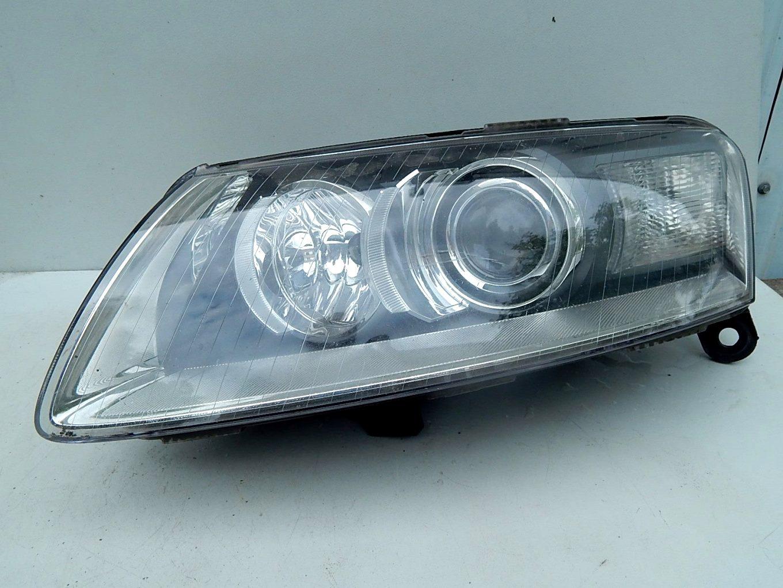 Audi A6 C6 Lewa Lampa Bi Xenon Przód Części Karoserii Naprawa I