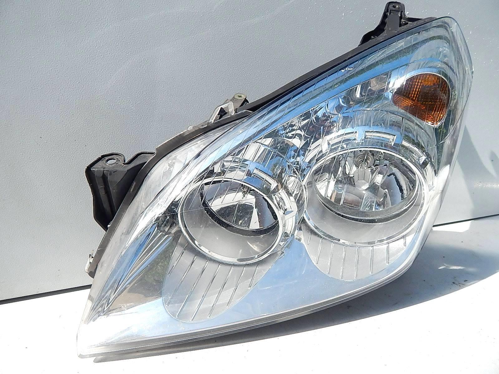 Opel Astra Iii H Lift Lewa Lampa Przód Części Karoserii