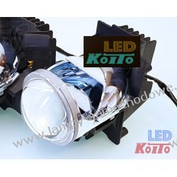 soczewka Mono-LED firmy Koito + przetwornica