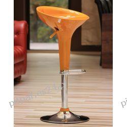Hoker, krzesło barowe LOGO Golden