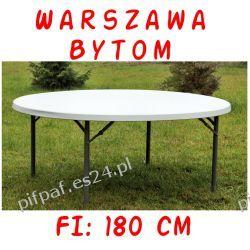 Stół bankietowy cateringowy okrągły FI: 180 cm