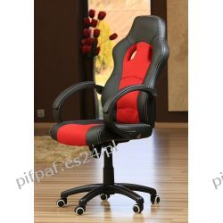 FOTEL biurowy do komputera SPORT LINE - F16 Black/Red