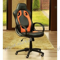 Fotel obrotowy do komputera X12 Black/Orange