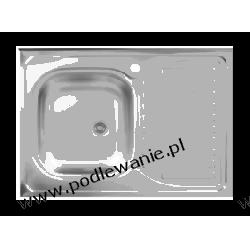 Zlewozmywak nakładany na szafkę 60 SK6 010T Toruń Przewody kroplujące