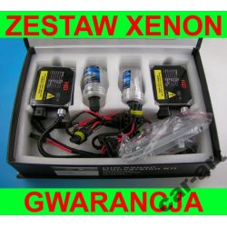 ZESTAW HID XENON H7 H1 H4 H3 HB3 HB4 KSENON 12v