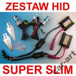 ZESTAW HID H7 H1 H4 H3 SLIM XENON CYFROWY 12V 35W