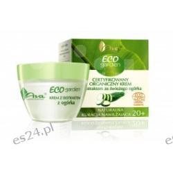 Eco Garden - krem z ekstraktem ze świeżego ogórka 20+