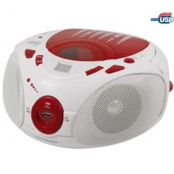 Radioodtwarzacz CD-MP3 Pop Red czerwony/biały...