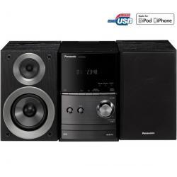 Mikrowieża CD/MP3/USB/iPod SC-PM500EF-K czarna + Bezprzewodowe słuchawki na podczerwień SHC2000/00...