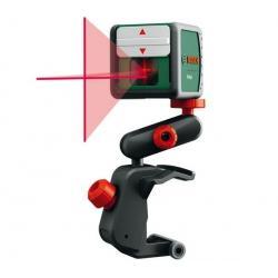 Kompaktowa automatyczna poziomica laserowa Quigo + uchwyt...