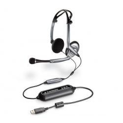 Słuchawki z mikrofonem PC .Audio DSP-400 USB (OEM)...