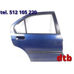 DRZWI PRAWE PRAWY TYŁ TYLNE CIVIC VI 5D 95-01 B77P Drzwi