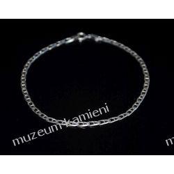 Delikatna srebrna bransoleta B177