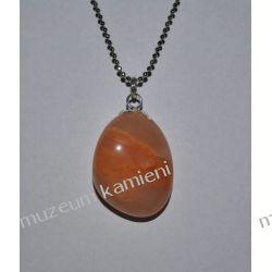 Piękny kamień księżycowy - wisior w srebrze W121