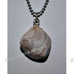 Piękny wisior z agatu w srebrze WA170