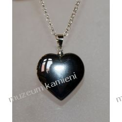 Hematyt wisior w kształcie serca WSER06