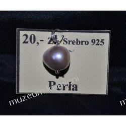 Perła - wisior w srebrze WA174