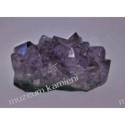 Piękne ametysty - szczotka krystaliczna MIN44