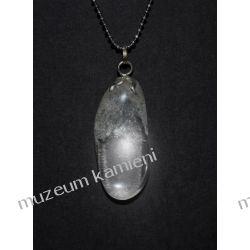 Piękny wisior z kryształu górskiego w srebrze WA024