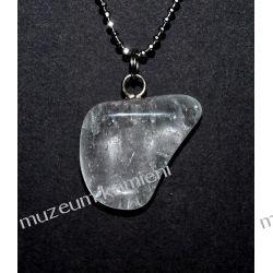 Piękny wisior z kryształu górskiego w srebrze WA148