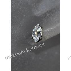 Wyjątkowo piękne kolczyki w srebrze KWK095 - cyrkonia