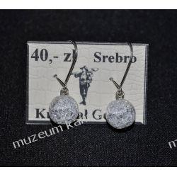 Kolczyki z kryształu górskiego KW106