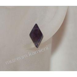 Kolczyki z ametystu w srebrze KWK021