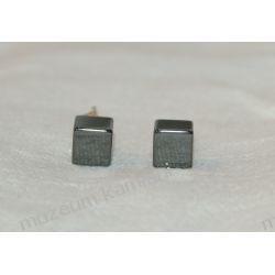 Hematyt kolczyki w srebrze KWK011