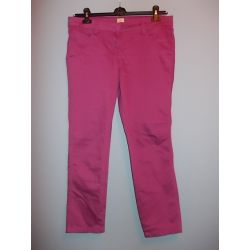 F&F  super 3/4 fioletowe spodnie damskie  44