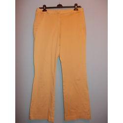 ISSAC MIZRAHI bawełniane  damskie spodnie 42