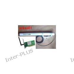 Antena YAGI 19dBi z 1m.kabla H-155+SMA-RPż+Karta PCI TP-LINK TL-WN551G