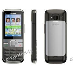 Nokia C5-00 SREBRNA NOWA 24 MIESIĄCE GWARANCJI (5mp)...