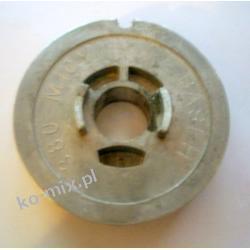 Kółko rozrusznika pilarki Dolpima PS180, 280 - metalowe