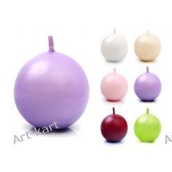 Świeca kula matowa fi45 x 20szt / r. kolory