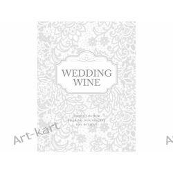 Etykiety samoprzylepne na wino / 50szt Zaproszenia, zawiadomienia