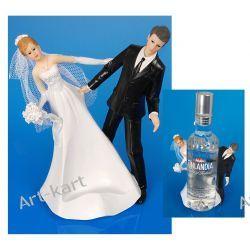 Para Młoda - stojak na alkohol, figurka na tort 18cm  PF29