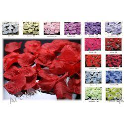 Płatki róż, różane konfetti PLRD100 r. kolory / 100szt Zaproszenia, zawiadomienia