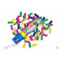 Tuba strzelająca kolorowym konfetti / 20cm Zaproszenia, zawiadomienia