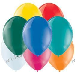 """Balony 5"""" BELBAL crystal MIX / 100szt Zaproszenia, zawiadomienia"""