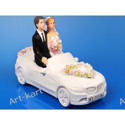 Para Młoda w samochodzie, figurka na tort 11cm PF25 Zaproszenia, zawiadomienia