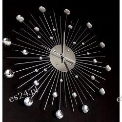Zegar Cristal Sunburst 50 cm