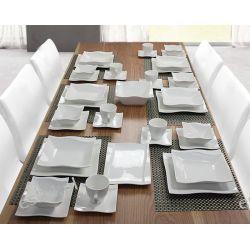 Markowy Serwis Obiadowy dla 6 osób 38 elementów. PROMOCJA