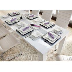 Markowy Porcelanowy Serwis Obiadowy dla 6 osób 26 elementów. PROMOCJA