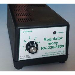 Regulator mocy, grzałki, obrotów  3600W