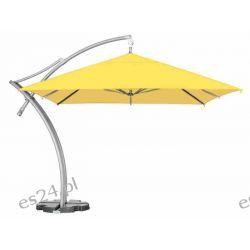 Parasol Ogrodowy Ibiza Quattro 3,5x3,5 m - Żółty